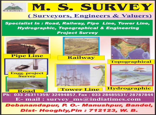 ms survey surveyors land in hooghly
