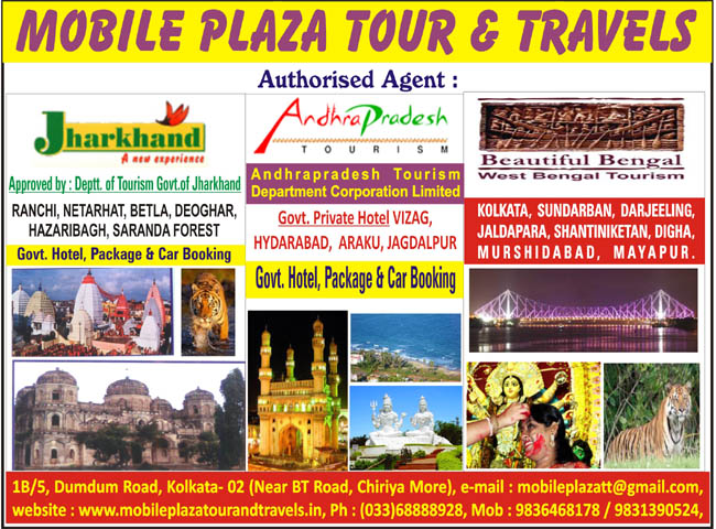 tour and travels kolkata